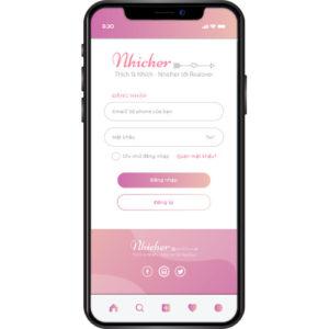 App ứng dụng hẹn hò Nhicher